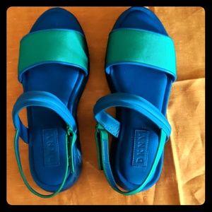 DKNY Blue Sandals